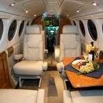 King Air B-200_Interior