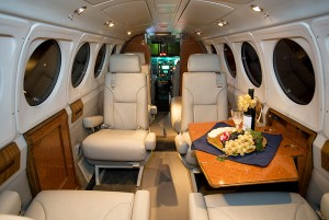 King Air B-200_Interior