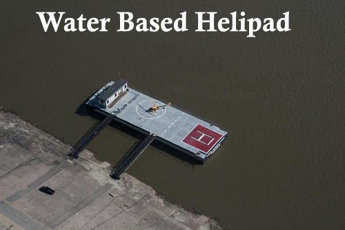 Water Based Helipad