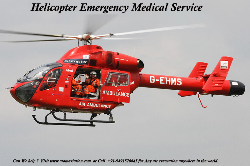HEMS-Helicopter Emergency Medical Services India - Atom